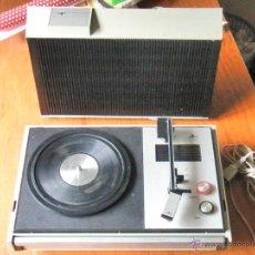 Radios antiguas: TOCADISCOS COSMO A2250 FUNCIONANDO. Lote 43731716
