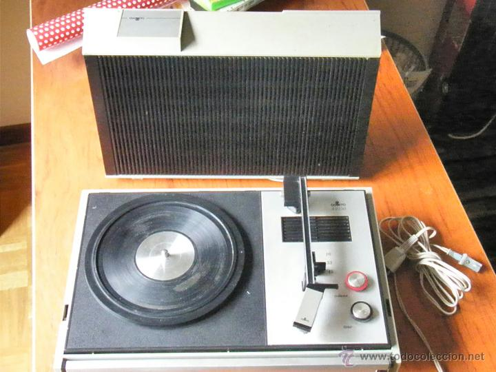 Radios antiguas: TOCADISCOS COSMO A2250 FUNCIONANDO - Foto 3 - 43731716