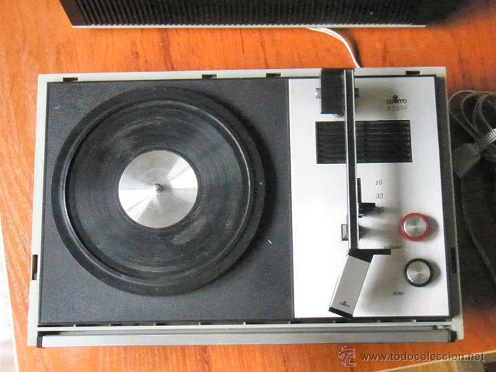 Radios antiguas: TOCADISCOS COSMO A2250 FUNCIONANDO - Foto 5 - 43731716