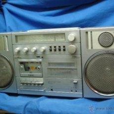 Radios antiguas: APARATO DE MÚSICA MARCA TOBISHI DE GRAN TAMAÑO DE LOS AÑOS 80 - FUNCIONA BIEN. Lote 43775061