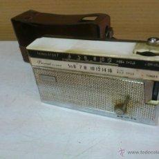 Radios antiguas: RADIO TRANSISTOR 7 PERSONAL ALLWAVE CON FUNDA ORIGINAL INCLUIDA.. NO SE HA PROBADO SU FUNCIONAMIENTO. Lote 43805478