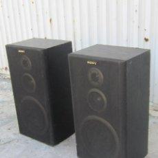 Radios antiguas: PAREJA DE ALTAVOCES SONY. Lote 94287862