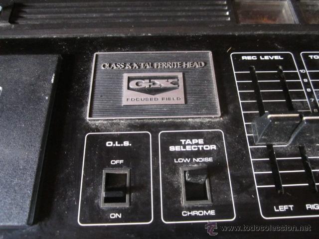 Radios antiguas: Akai GXC 40T - Radio cassette ochentero funcionando. - Foto 2 - 43937871