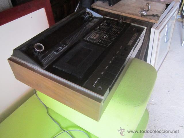 Radios antiguas: Akai GXC 40T - Radio cassette ochentero funcionando. - Foto 3 - 43937871