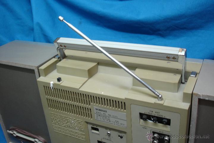 Radios antiguas: APARATO DE MÚSICA MARCA TOBISHI DE GRAN TAMAÑO DE LOS AÑOS 80 - FUNCIONA BIEN - Foto 10 - 43775061