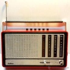 Radios antiguas: RADIO TRANSISTOR INTER EUROMODUL 150 L. VINTAGE. FUNCIONA A 125V Y 220V. VER DESCRIPCION. Lote 99327147