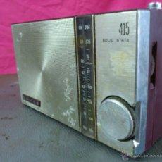 Radios antiguas: RADIO TRANSISTOR MARCA LAVIS MODELO 415. Lote 44150500