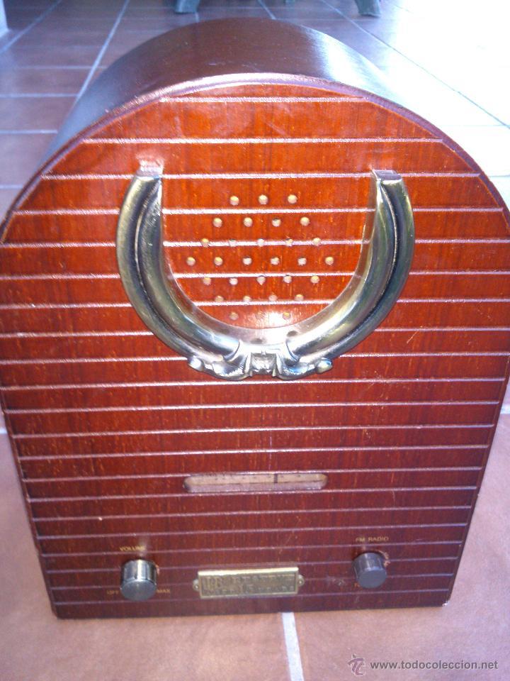 Radios antiguas: REPLICA RADIO CAPILLA.36X26X15CM. - Foto 2 - 44231379