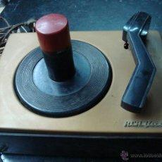 Radios antiguas: ELECTRONICA, ANTIGUO PLATO TOCADISCOS, GIRA DISCOS, PICK-UP AUTOMATICO 45 RPM, MARCA RCA VICTOR. Lote 44387114