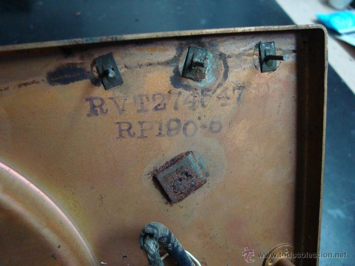 Radios antiguas: Electronica, Antiguo plato tocadiscos, gira discos, pick-up automatico 45 rpm, marca RCA Victor - Foto 4 - 44387114