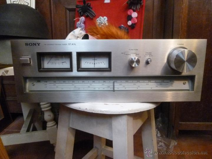 RADIO SONY MODELO ST- A3L (Radios, Gramófonos, Grabadoras y Otros - Transistores, Pick-ups y Otros)