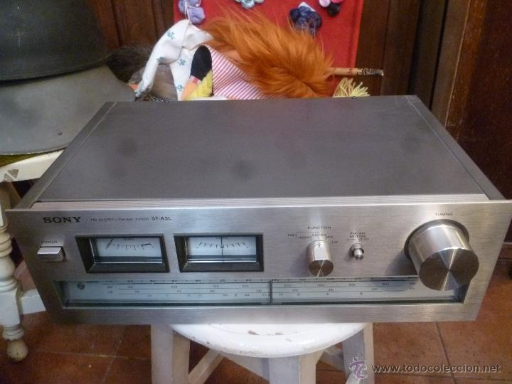 Radios antiguas: RADIO SONY MODELO ST- A3L - Foto 3 - 44418041