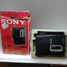 Radios antiguas: GRAVADORA-REPRODUCTOR -SONY 323-NUEVA. Lote 44505991