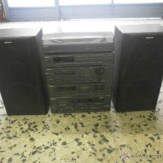 Radios antiguas: EQUIPO DE MUSICA Y ALTAVOCES SONY. Lote 167079186