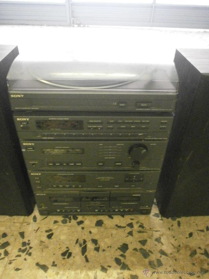 Radios antiguas: EQUIPO DE MUSICA Y ALTAVOCES SONY - Foto 5 - 167079186
