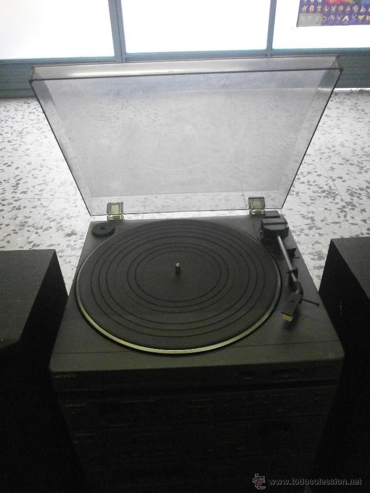 Radios antiguas: EQUIPO DE MUSICA Y ALTAVOCES SONY - Foto 6 - 167079186