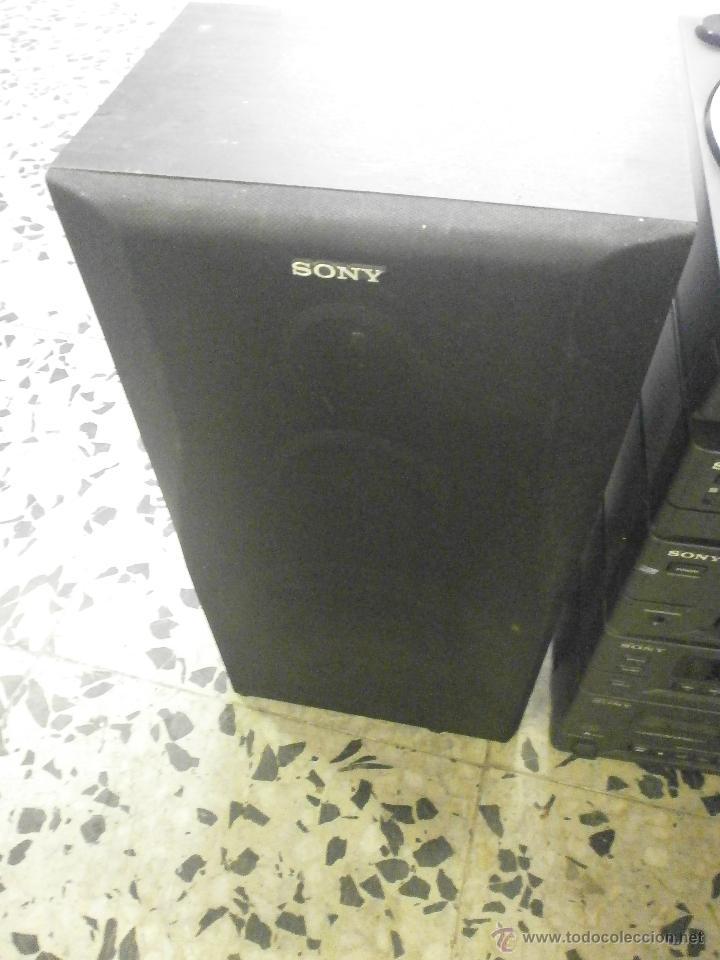 Radios antiguas: EQUIPO DE MUSICA Y ALTAVOCES SONY - Foto 2 - 167079186