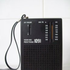 Radios antiguas: RADIO TRANSISTOR SIERA SX1091. Lote 45193563