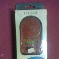 Radios antiguas: CITIZEN TRAVELING RADIO CR-20T RADIO RELOJ DESPERTADOR. Lote 45198025
