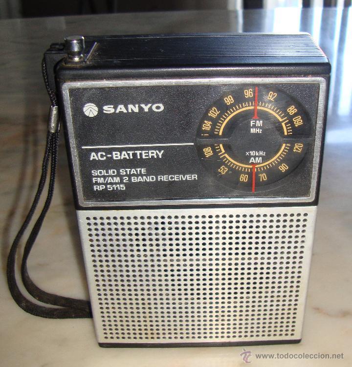 RADIO TRANSISTOR SANYO RP 5115 (Radios, Gramófonos, Grabadoras y Otros - Transistores, Pick-ups y Otros)