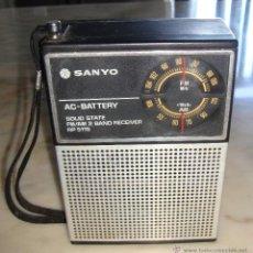 Radios antiguas: RADIO TRANSISTOR SANYO RP 5115. Lote 115261663
