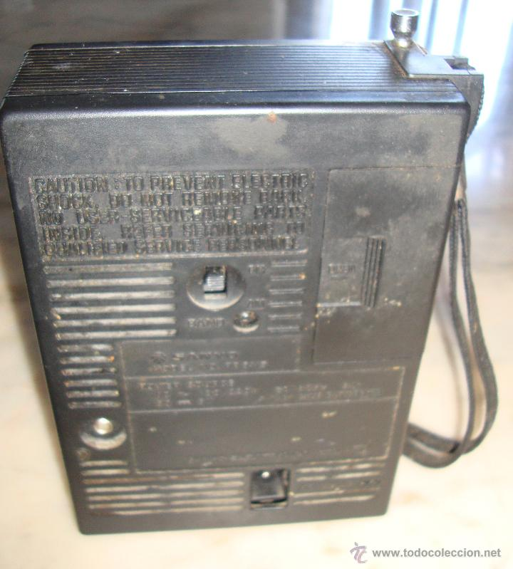 Radios antiguas: RADIO TRANSISTOR SANYO RP 5115 - Foto 4 - 115261663