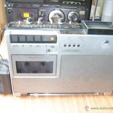 Radios antiguas: RADIO CASSETTE CON TV PANASONIC FUNCIONANDO. Lote 45300906