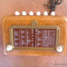 Radios antiguas: REPLICAS EN MINIATURA;SUPERGIOIELLO MOD;195.ITALIA.. Lote 45380241