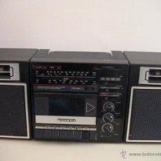 Radios antiguas: RADIO CASSETTE RECORDER SANYO MODELO M9708L . Lote 45385446