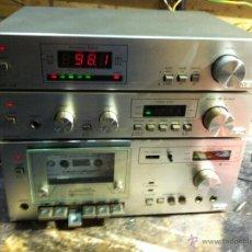 Radios antiguas: MBO SCHMIDT Y NIEDERLEITNER EQUIPO MUSICAL ALEMAN 3 MODULOS INDEPENDIENTES, VINTAGE VER VIDEO. Lote 45865712