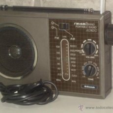 Radios antiguas: VINTAGE.RADIO TRANSISTOR,MANSONIC.FUNCIONANDO.. Lote 45879451