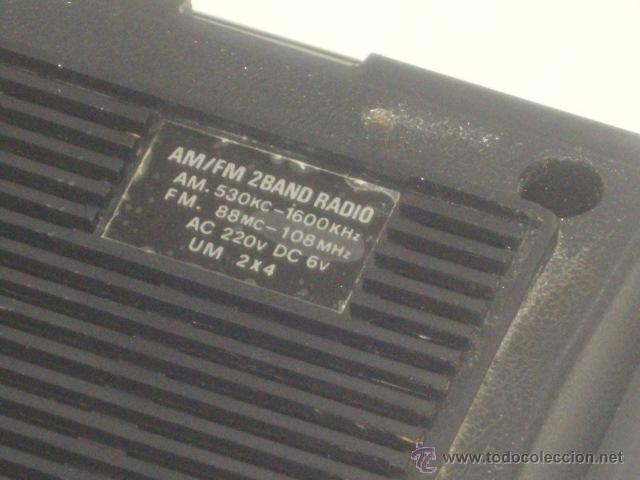 Radios antiguas: VINTAGE.RADIO TRANSISTOR,MANSONIC.FUNCIONANDO. - Foto 4 - 45879451