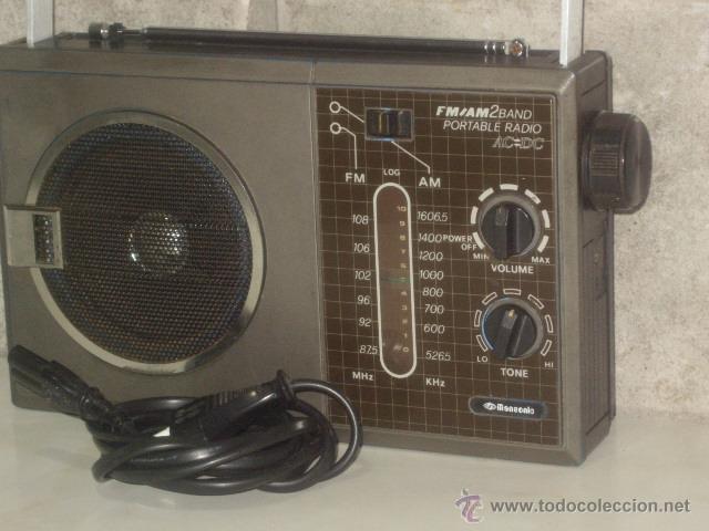Radios antiguas: VINTAGE.RADIO TRANSISTOR,MANSONIC.FUNCIONANDO. - Foto 8 - 45879451