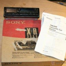 Radios antiguas: RADIO CASETTE DE COCHE MARCA SONY XR 3500 VER FOTOS. Lote 245941635