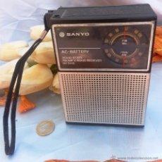 Radios antiguas: VIEJA RADIO SANYO RP5115:. Lote 45969089