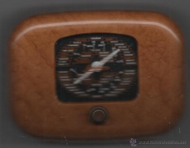 RADIO DE LA COLECCIÓN RADIOS DE ANTAÑO MODELO SAVIGLIANO OVETTO FUNCIONANDO PERFECTAMENTE (Radios, Gramófonos, Grabadoras y Otros - Transistores, Pick-ups y Otros)
