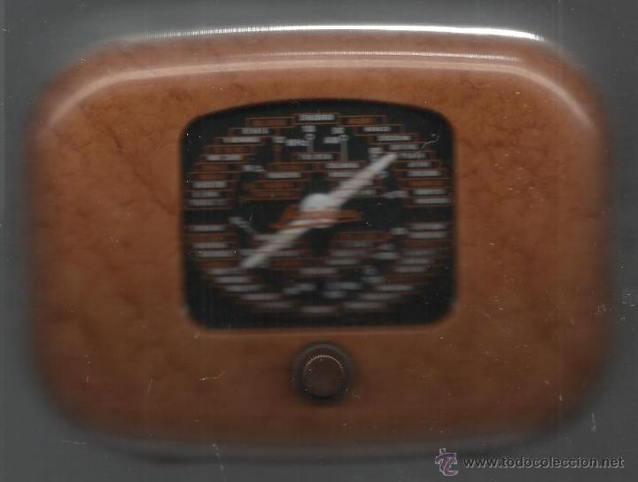 Radios antiguas: RADIO DE LA COLECCIÓN RADIOS DE ANTAÑO MODELO SAVIGLIANO OVETTO FUNCIONANDO PERFECTAMENTE - Foto 2 - 46174299