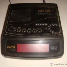 Radios antiguas: RADIO DESPERTADOR ARTECH. Lote 46179640