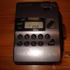 Radios antiguas: WALKMAN AM/FM SONY MEGABASS WM FX-43 -PRESENTA AVERIA EN CASSETTE- NO REPRODUCE REBOBINA SIEMPRE. Lote 46507521
