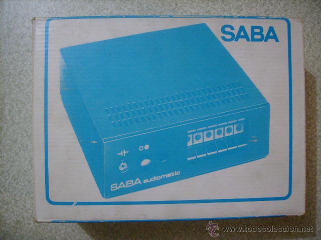 AURICULARES POR INFRAROJOS SABA AUDIOMATIC 7L....VINTAGE HI-FI RARISIMOS (Radios, Gramófonos, Grabadoras y Otros - Transistores, Pick-ups y Otros)