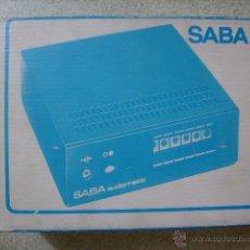 Radios antiguas: AURICULARES POR INFRAROJOS SABA AUDIOMATIC 7L....VINTAGE HI-FI RARISIMOS. Lote 46634192