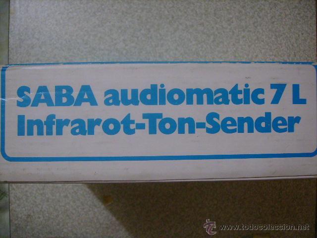 Radios antiguas: AURICULARES POR INFRAROJOS SABA AUDIOMATIC 7L....VINTAGE HI-FI RARISIMOS - Foto 2 - 46634192