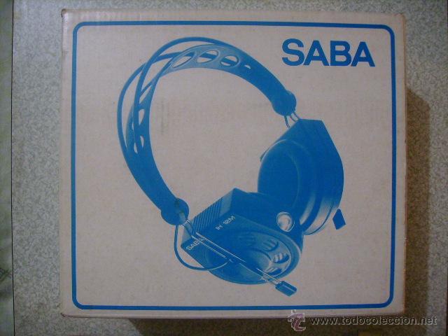 Radios antiguas: AURICULARES POR INFRAROJOS SABA AUDIOMATIC 7L....VINTAGE HI-FI RARISIMOS - Foto 3 - 46634192