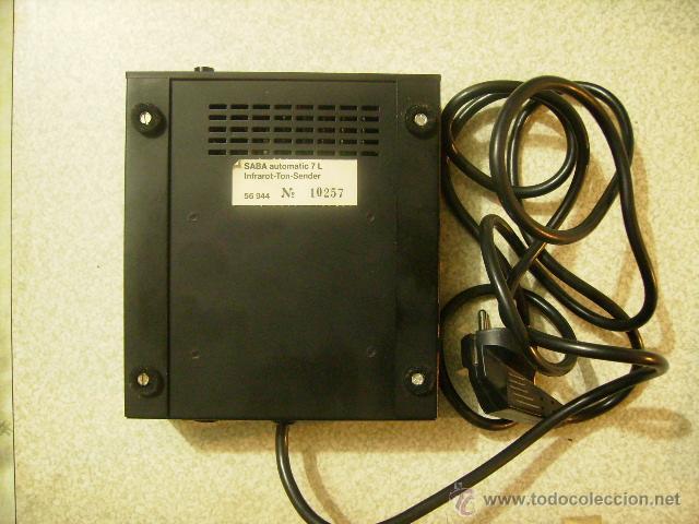 Radios antiguas: AURICULARES POR INFRAROJOS SABA AUDIOMATIC 7L....VINTAGE HI-FI RARISIMOS - Foto 6 - 46634192