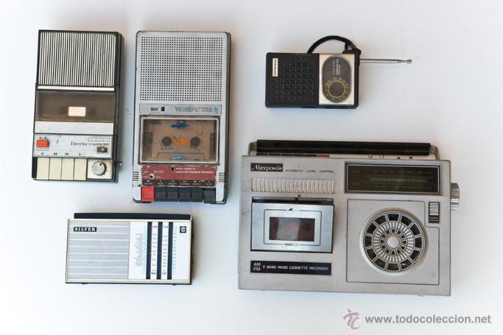 LOTE RADIOS Y RADIO CASSETES. ROTOS (Radios, Gramófonos, Grabadoras y Otros - Transistores, Pick-ups y Otros)