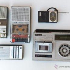 Radios antiguas: LOTE RADIOS Y RADIO CASSETES. ROTOS. Lote 114354814
