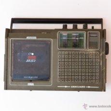 Radios antiguas: RADIO CASSETTE VANGUARD DAKTARI NO FUNCIONA. Lote 46873790