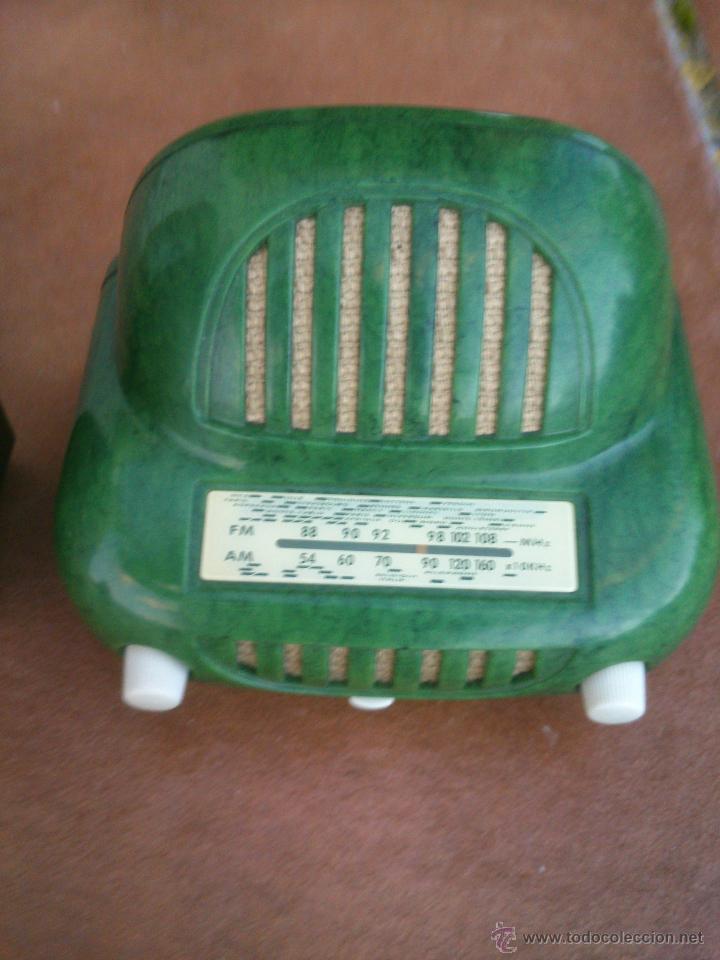Radios antiguas: REPLICAS EN MINIATURA.EKCO.ALLOCCHIO BACCHINI,BUSH,ROLAND BRANDT,SONORETTE.CON TELA .POCO USO. - Foto 2 - 46894995
