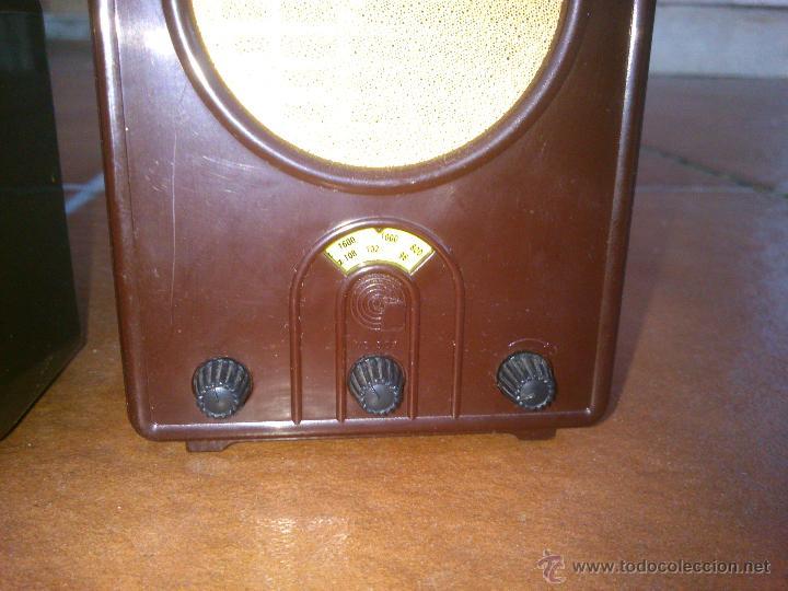 Radios antiguas: REPLICAS EN MINIATURA.EKCO.ALLOCCHIO BACCHINI,BUSH,ROLAND BRANDT,SONORETTE.CON TELA .POCO USO. - Foto 7 - 46894995