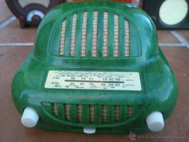 Radios antiguas: REPLICAS EN MINIATURA.EKCO.ALLOCCHIO BACCHINI,BUSH,ROLAND BRANDT,SONORETTE.CON TELA .POCO USO. - Foto 8 - 46894995